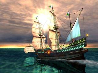 Download Galleon 3D Screensaver