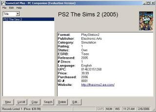 Download GameList Plus