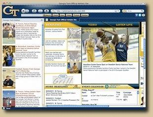 Download Georgia Tech IE Browser Theme