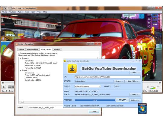 Getgo youtube downloader software.