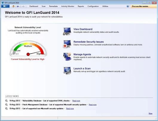 Download GFI LanGuard