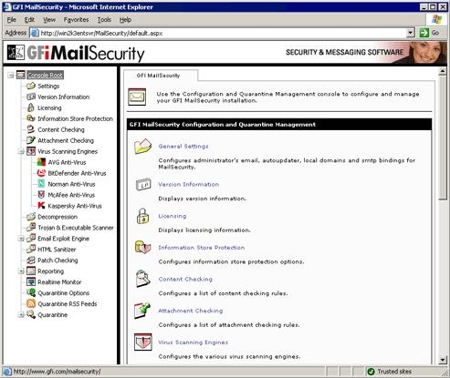 Download GFI MailSecurity for Exchange/SMTP
