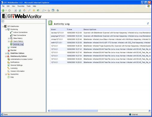 Download GFI WebMonitor for ISA/TMG