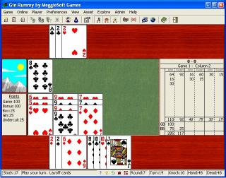 Download Gin Rummy by MeggieSoft Games