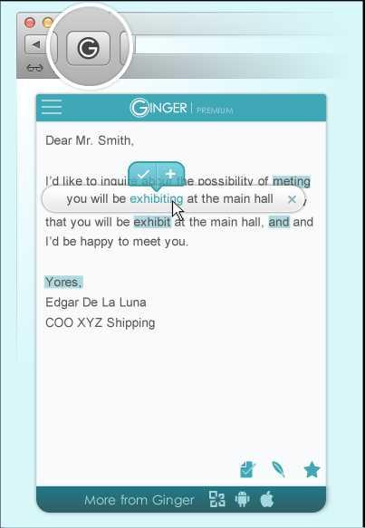Ginger Page for Safari