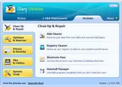 Glary Utilities installer