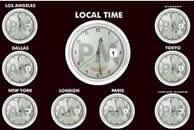 Download Global Clock Screensaver