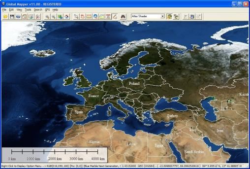 Download Global Mapper 11 tools