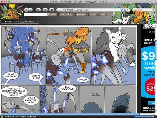 Download Goblins Comic Firefox Theme