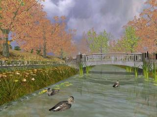 Download Golden Autumn 3D Screensaver