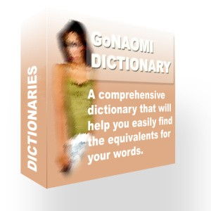 GoNaomi Dictionary
