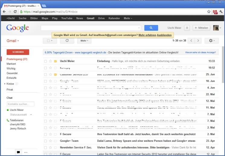 Google Mail Checker - standaloneinstaller com