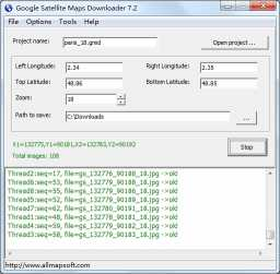 Download Google Satellite Maps Downloader