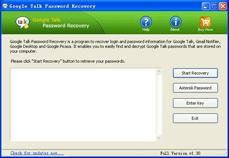 Download Google Talk Password Recovery