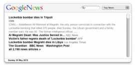 GoogleNews Widget for Mac