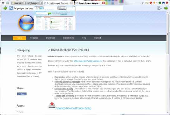Download Goona Browser