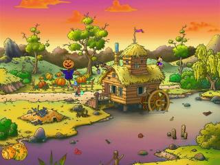 Download Gourdville Cartoon Screensaver