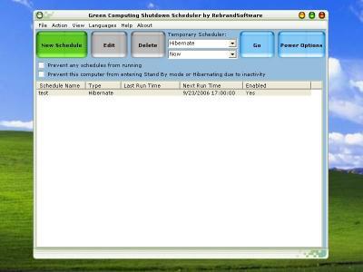 Download Green Computing Shutdown Scheduler