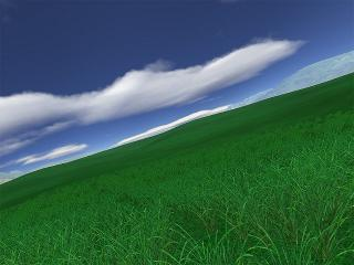 Download Green Fields 3D screensaver