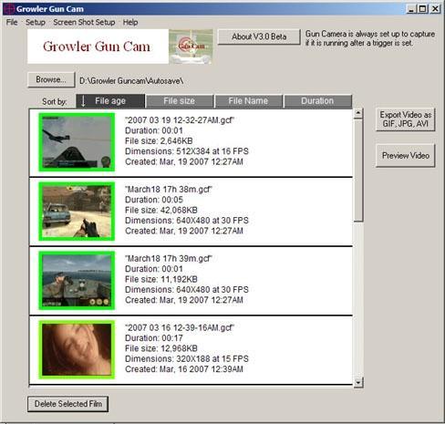 Download Growler Guncam