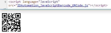 GS1 QR Code JavaScript Barcode Generator