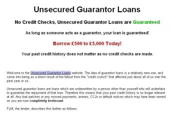 Download Guarantor Loans Application