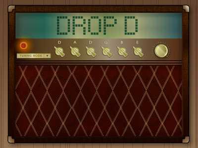 Guitar Tuner Drop D