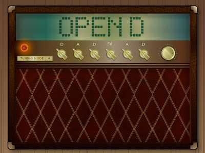 Guitar Tuner Open D
