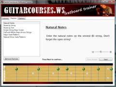 Download GuitarCourses.ws Fretboard Trainer