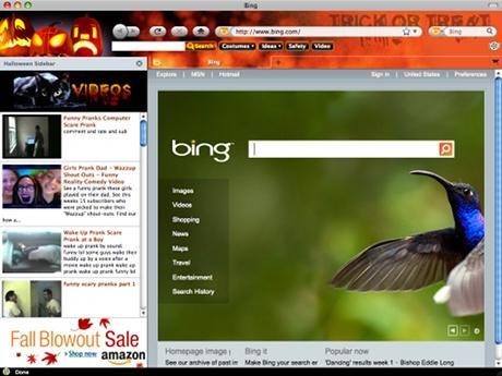 Download Halloween 2010 Internet Explorer Theme