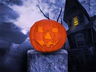 Download Halloween Pumpkin 3D Screensaver