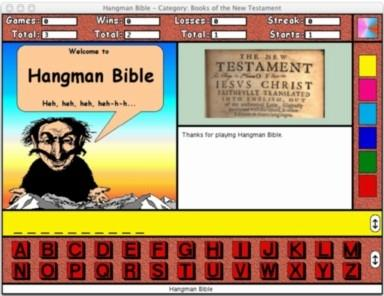 Download Hangman Bible for the Macintosh