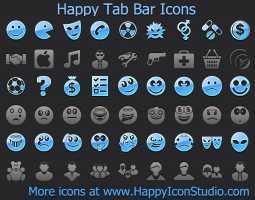 Happy Tab Bar Icons