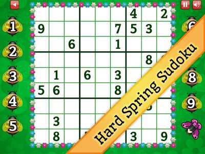 Hard Spring Sudoku