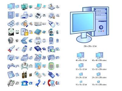 Download Hardware Icon Library