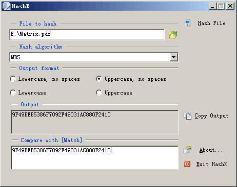 Download HashX