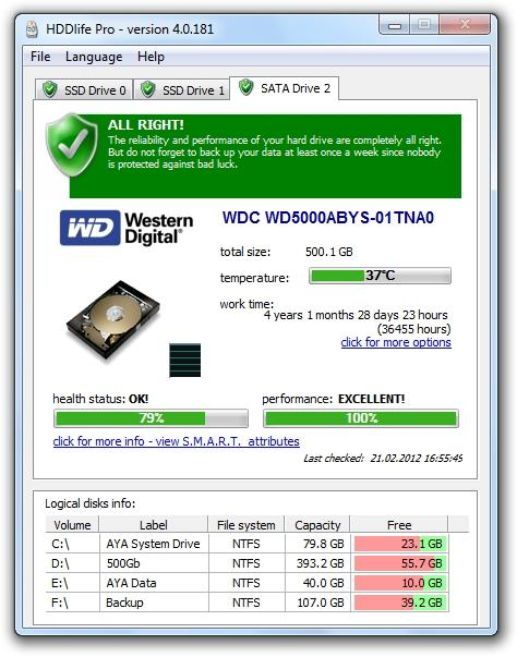 Download HDDlife Pro