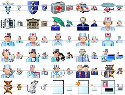 Download Health Care Icons