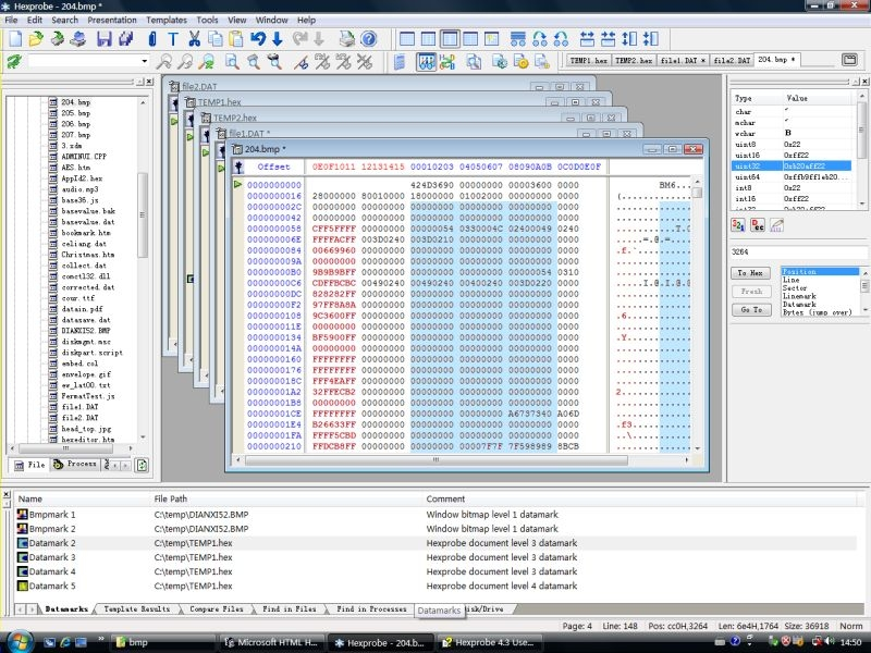 Hexprobe Hex Editor - standaloneinstaller com