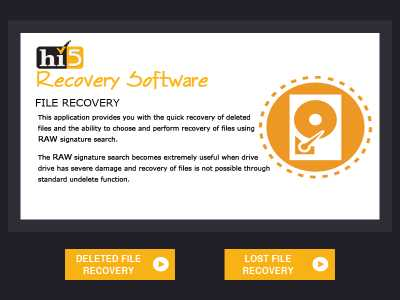 Hi5 Software File Recovery