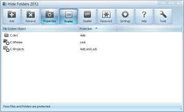 Download Hide Folders