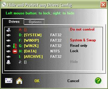 Download Hide & Protect any Drives