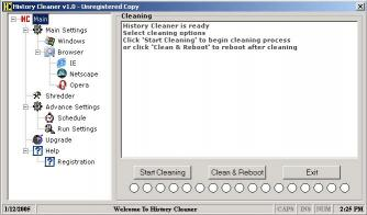 Download History Cleaner