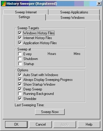 Download History Sweeper
