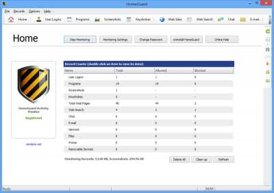 Download HomeGuard Activity Monitor 64 bit
