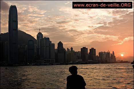 Download Hong Kong Screensaver EV