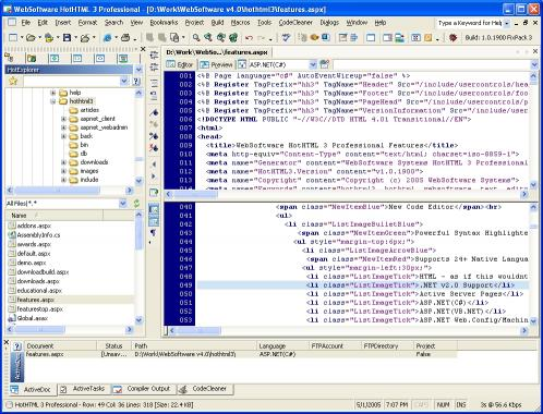 Download HotHTML 3 Professional