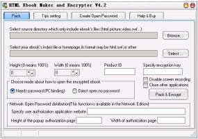 Download HTML Ebook Maker and Encrypter
