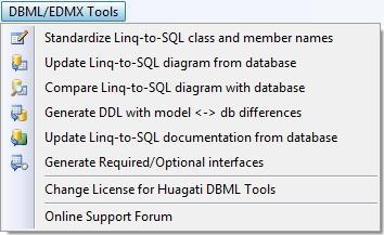 Download Huagati DBML/EDMX Tools