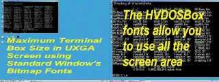HVDOSBox - Windows Terminal Fonts